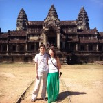 Ангкор Ват, вид сзади