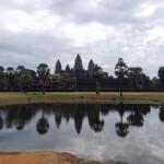 Ангкор Ват (вид спереди)