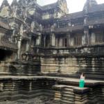 Один из бассейнов на 1-м уровне храма