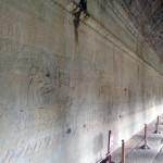 Один из барельефов на 1-м уровне храма