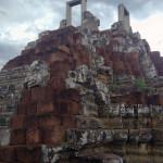 Бапуон, сохранившаяся верхушка