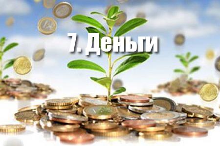 7. Деньги